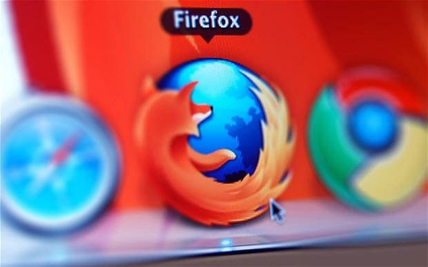 barre firefox chrome safari